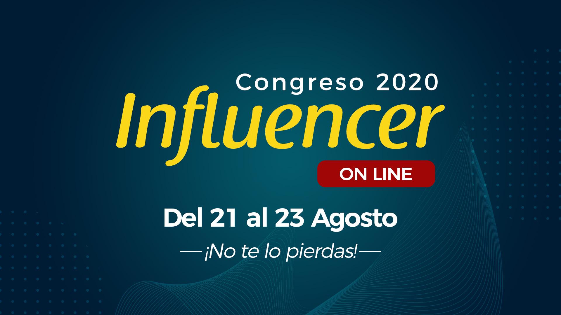 Congreso Influencer 21-08-2020