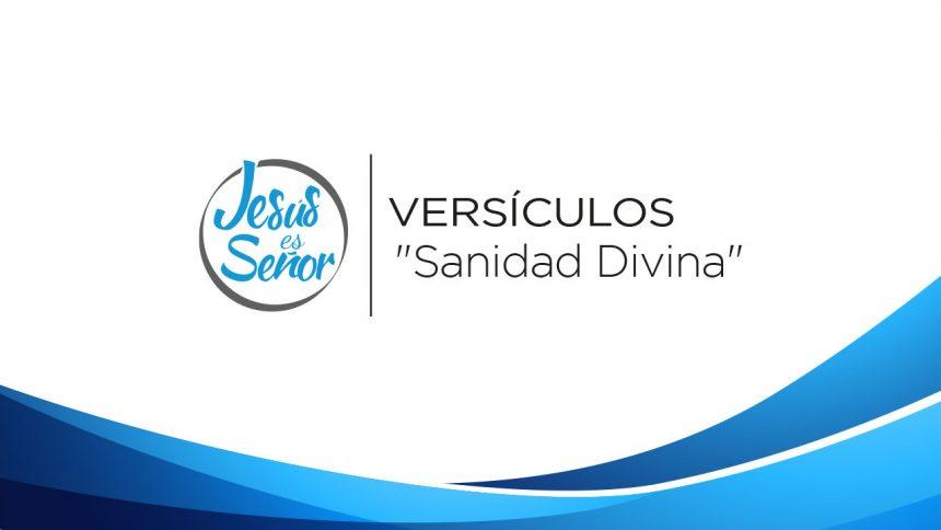 Versículos por Sanidad Divina